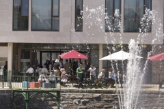 Drake's Place garden and reservoir launch *** Local Caption *** opening, park,