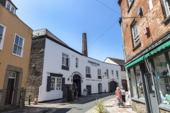 History images of  History images of Barbican Plymouth Gin Southside Street *** Local Caption *** Plymouth history